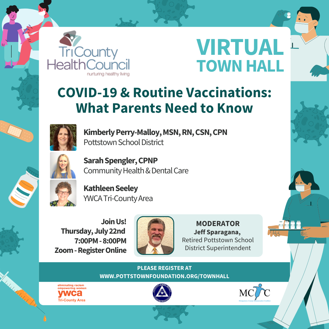 TCHC Town Hall July 22 Invite Shareable Graphic v2